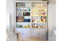 Display Cabinet in White Dove