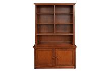 Cabinet and Hutch in Antique Cherry