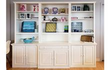 Display Bookcase in Antique White