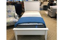 Lisbon Twin Bed in White
