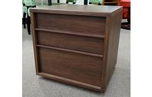Urbana 2 Drawer Nightstand in Walnut