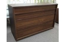 Urbana 3 Drawer Dresser in Walnut