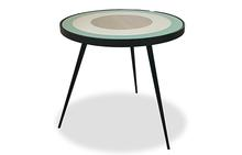 Bullseye Side Table in Sage