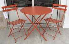 Bistro Outdoor Set in Paprika