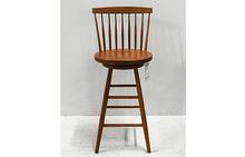 Temple Bar Stool in Natural Cherry