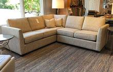 Heather Sectional in Gold