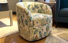 Omni Swivel Chair in Floral Passion Fruit