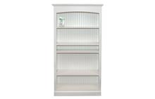Hampton Bookcase in White