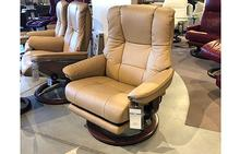 Mayfair Large Chair with Leg Comfort in Paloma Sand