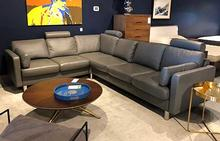 E600 Sectional in Metal Grey