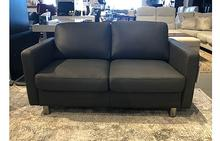 Emma E600 Loveseat in Dark Grey
