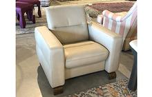 Wave Stressless Lowback Chair in Cream