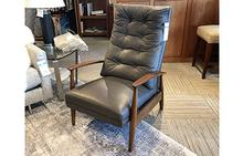 Viceroy Recliner in Grey by Thayer Coggin
