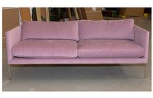 Drop In Sofa in Red-Violet