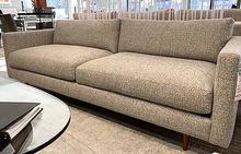 Get Down Sofa in Granite with Wooden Legs