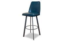 Sofia Bar Stool in Blue