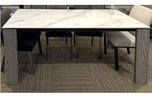 Empire Dining Table with Porcelain Top - 36 x 72