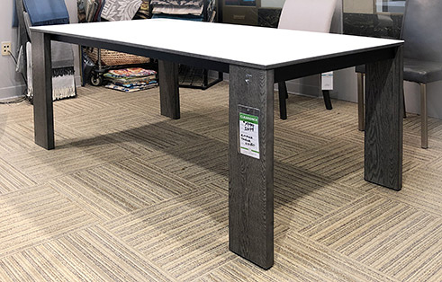 Empire Extension Table in Grey Oak