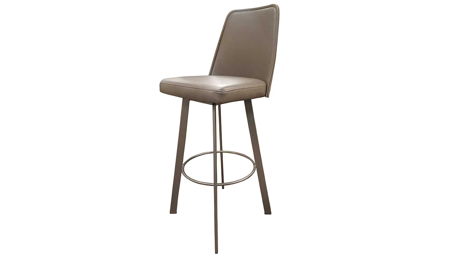 Sofia Bar Stool in Taupe