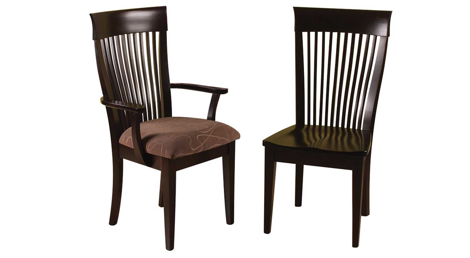 Circle furniture chad dining chair dining chairs acton for Circle furniture dining tables