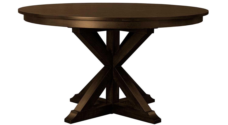 Circle furniture devon dining table wood tables for Circle furniture dining tables