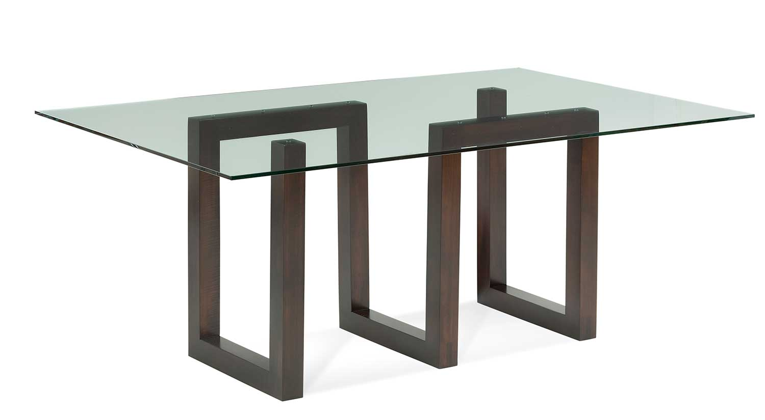 Serpent Glass Dining Table
