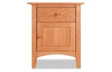 Canterbury 1 Drawer Nightstand with Door & Shelf