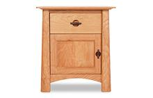 Harvestmoon 1 Drawer Nightstand with Door