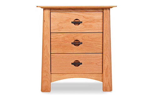 Harvestmoon 3 Drawer Nightstand
