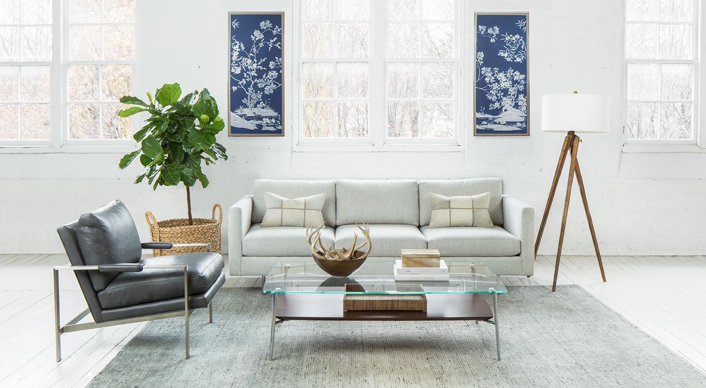 Circle Furniture Design Classic Sofa Modern Sofa Mid Century