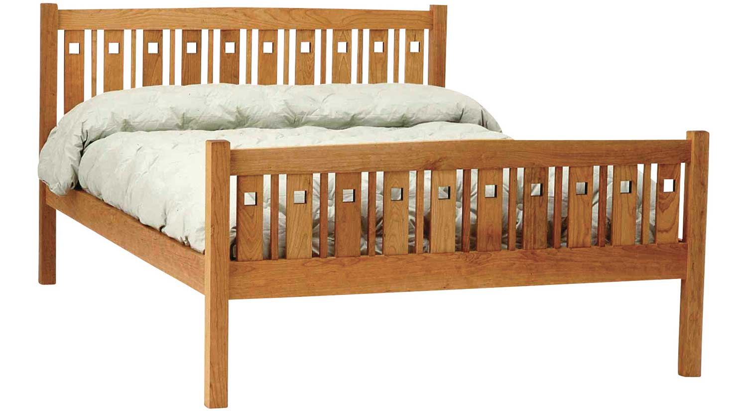 Circle Furniture - Macintosh Bed | Solid Maple Beds Boston