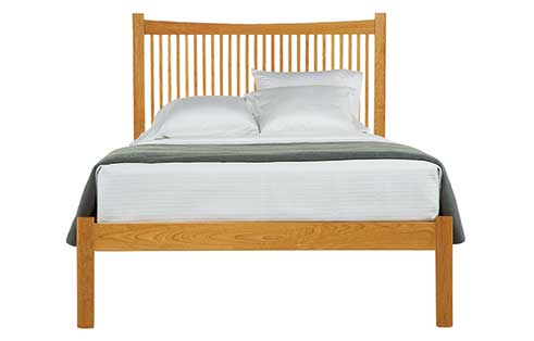 Heartwood Bed with Low Footboard