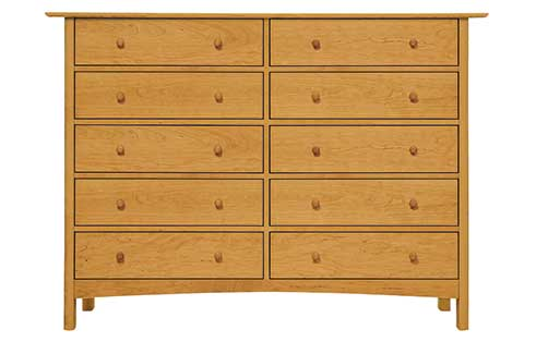 Heartwood 10 Drawer Dresser