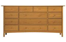 Heartwood 13 Drawer Dresser