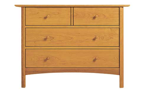 Heartwood 4 Drawer Dresser