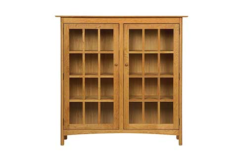 Heartwood Glass Door Bookcase