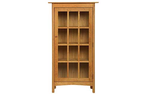 Heartwood One Door Bookcase