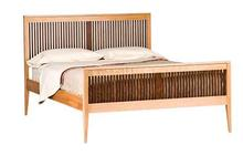 Heritage Luna Bed with Walnut Spindles