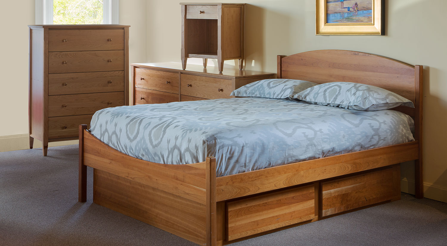 Circle Furniture Moondance Shaker Bed Beds Cambridge
