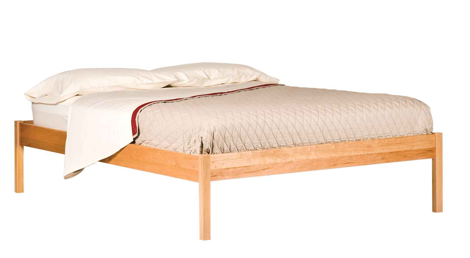 Circle Furniture - Basic Bed | Hand-Crafted Beds New England ...