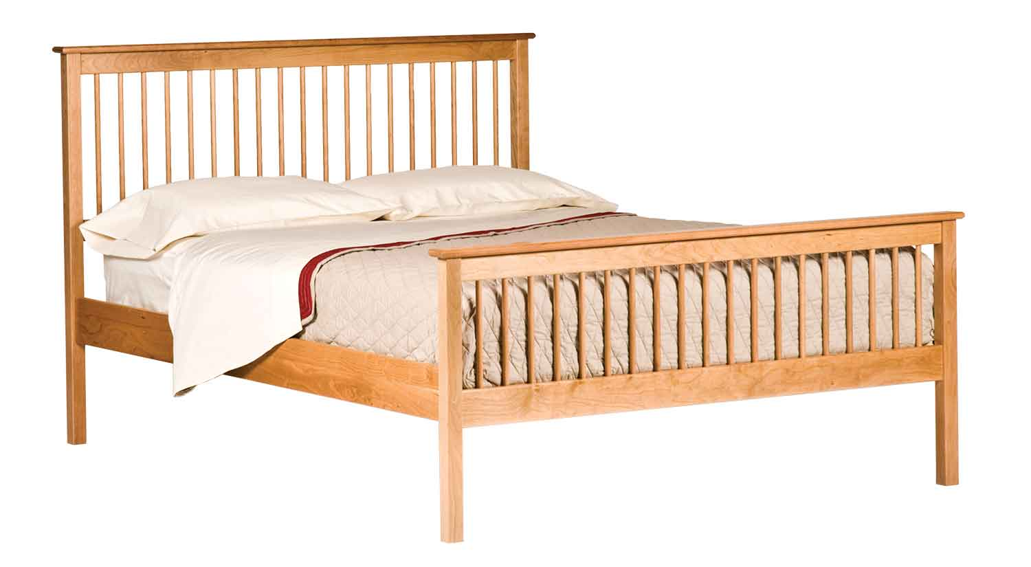 Shaker Spindle Bed