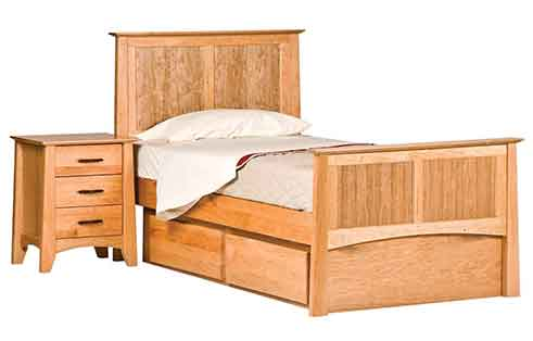 Willow Panel Twin Bed