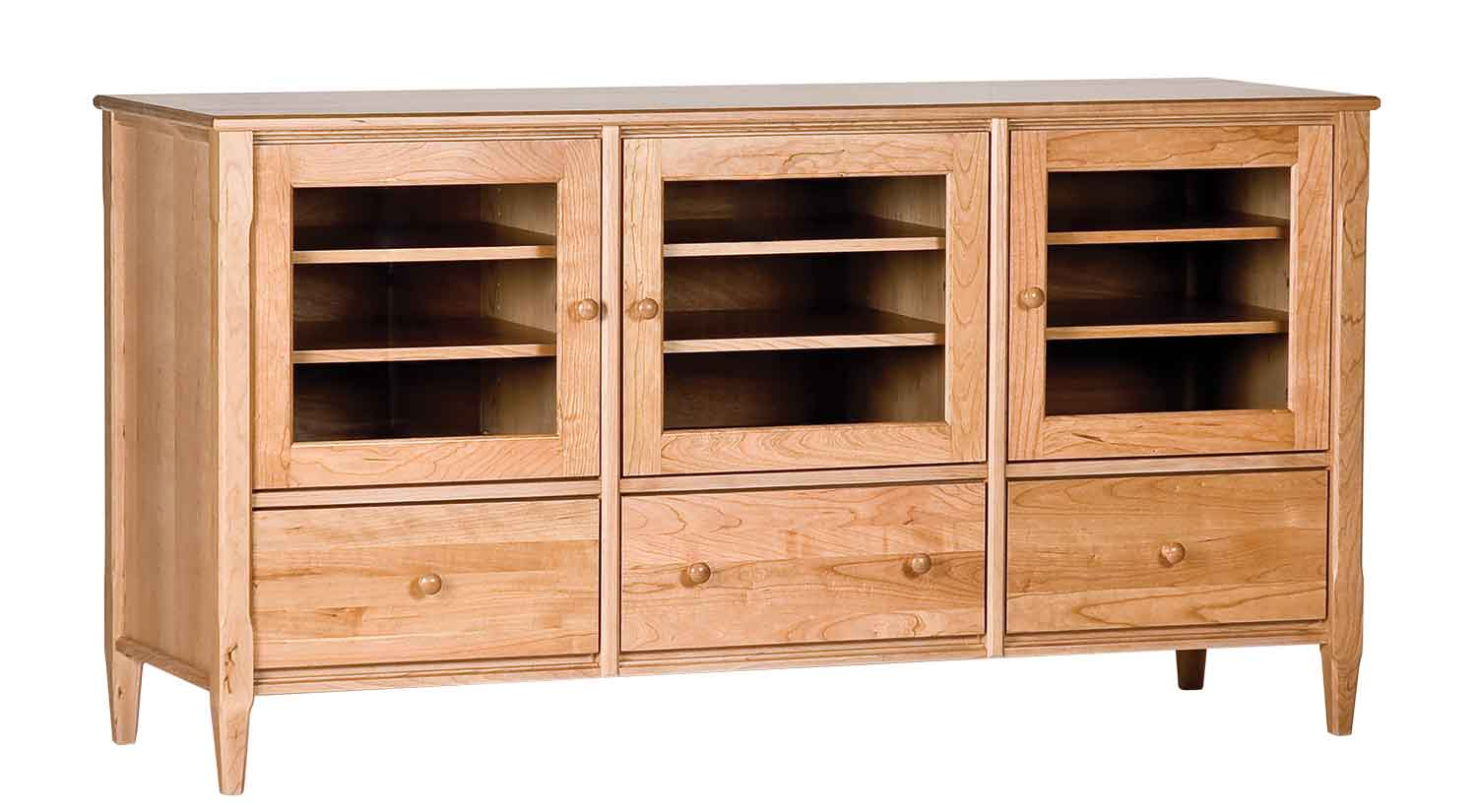 pocket with intended open arm for wood reclaimed media cabinet truckee designs doors