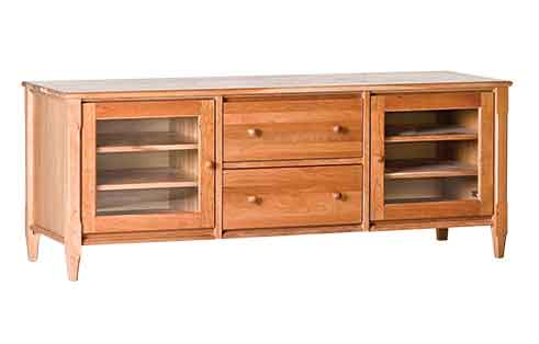 Circle Furniture Shaker 50 Quot Media Cabinet Tv Stands Ma