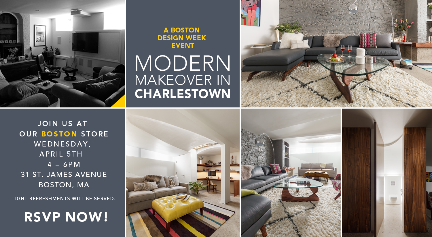 Modern Makeover In Charlestown A Boston Design Week Event