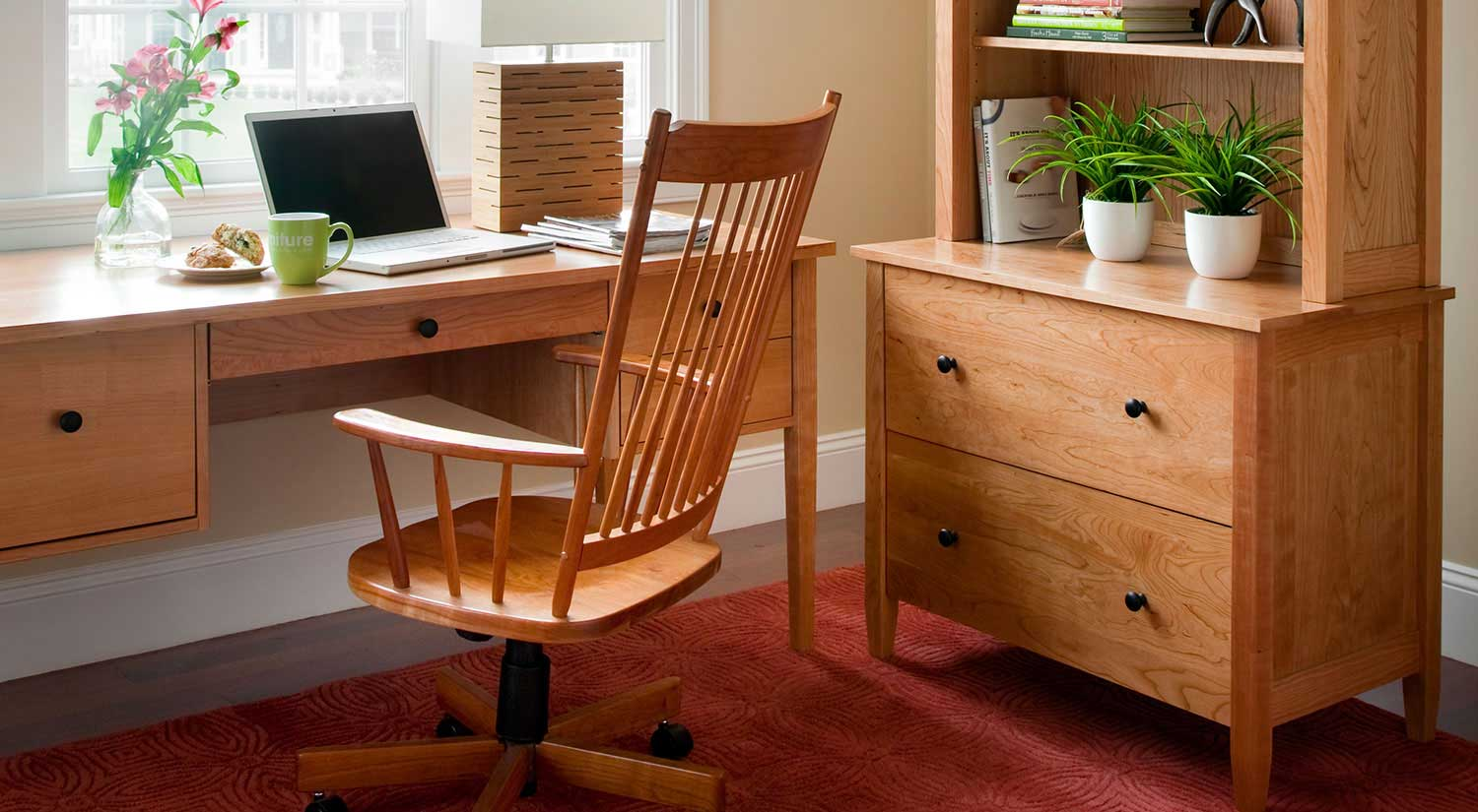Circle Furniture Preston Desk Home Office Desks Boston