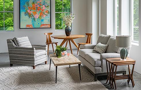Circle Furniture - Camden Apartment Sofa   Small Sofas ...