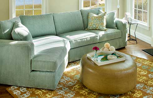 ... Milford Cuddle Chaise Sectional : cuddle chaise sectional - Sectionals, Sofas & Couches