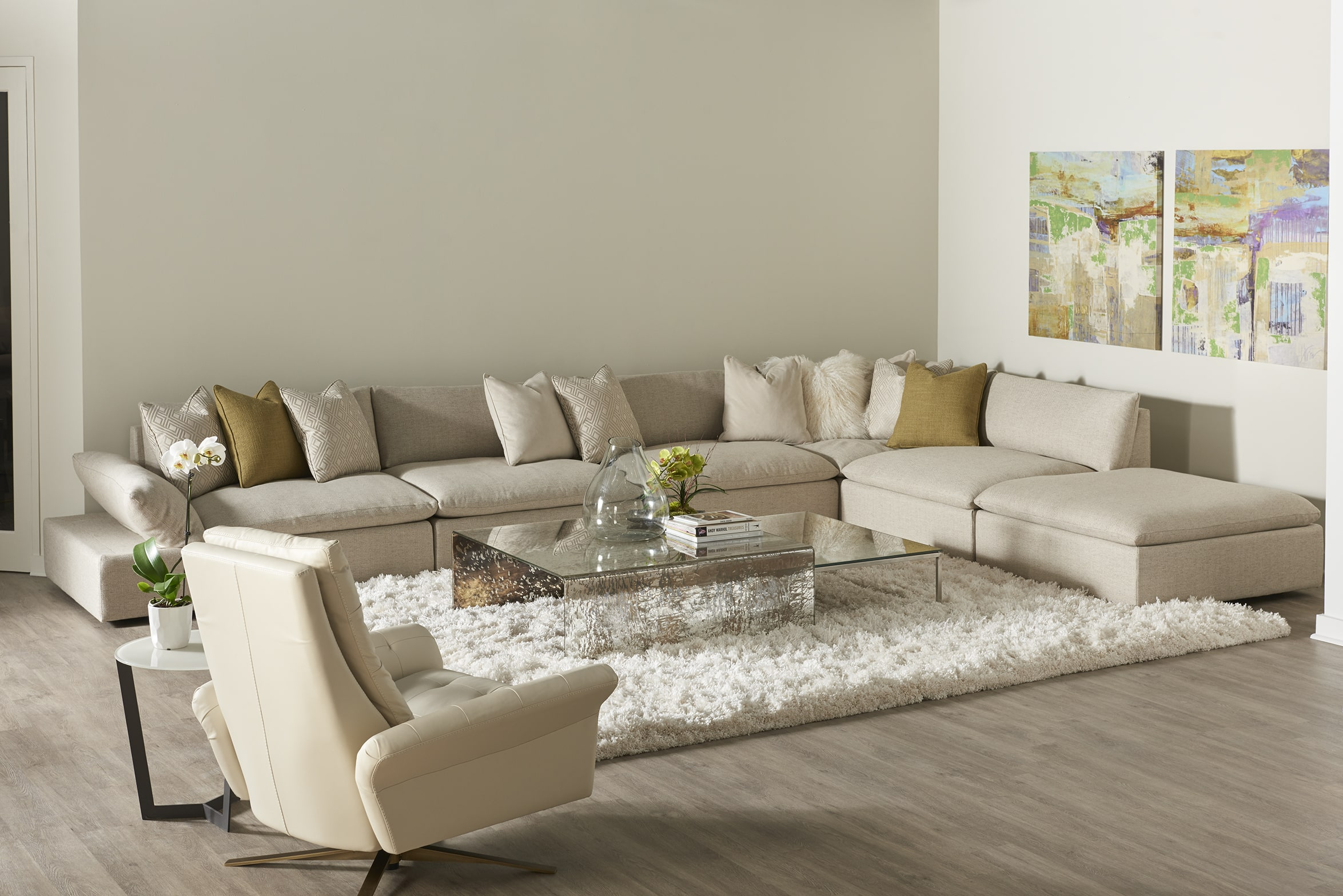 Circle Furniture How Much Does It Cost To Furnish A Living Room