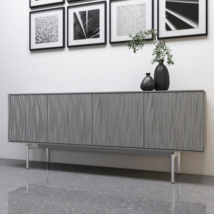 tanami, bdi, media, storage, console, credenza, circle furniture